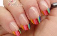 Pestrofarebné nechty