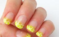 Neon na leto – vzor aj na gélové nechty