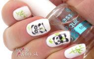 Panda na nechtoch