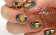 Ozdobte si nechty s jesenným motívom