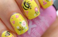 Včielka na nechtoch