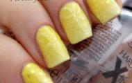 Žltá manikúra