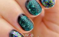 Glitrová manikúra & Glitter manicure