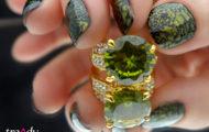 L´ORÉAL Paris Color Riche 807 Majestic Green & Orly Liquid vinyl 40484