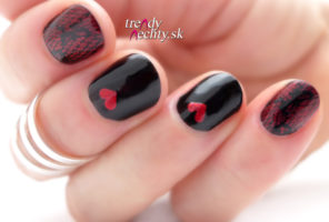 Opi An Affair In Red Square R 53 & Valentine's manicure