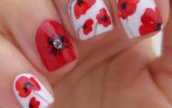 Divý mak & poppy nail art