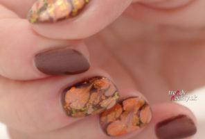 Jesenné farby na nechtoch