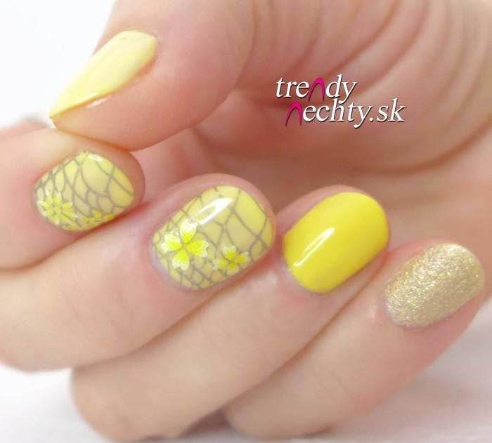 Žltý lak na nechty